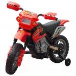 Kinder Motorrad 2 km/h Akku rot