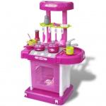 Kinderküche Spielküche mit Licht- und Soundeffekten Rosa
