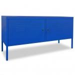 vidaXL Fernsehschrank 118 x 40 x 60 cm Blau