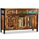 vidaXL Sideboard Recyceltes Massivholz 120 x 35 x 76 cm