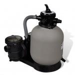 vidaXL Sandfilterpumpe 600 W 17.000 L/h