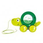 Hape Nachziehspielzeug Schildkröte Tito Grün E0354