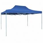 vidaXL Pop-Up Festzelt 3x4, 5 m Blau
