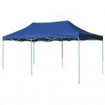 vidaXL Pop-Up Festzelt 3x6 m Blau