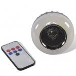 Party Fun Lights Bluetooth Lautsprecher mit Fernbedienung