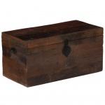 vidaXL Aufbewahrungsbox Bahnschwellen-Holz Recycelt Massiv 80x40x40 cm