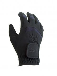 QHP Kinder Reithandschuhe Handschuhe Multi Winter mit Fleece Stretcheinsätze