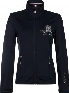 Imperial Riding Softshell-Jacke Oracle navy Gr. L Stickereien Strass Prints