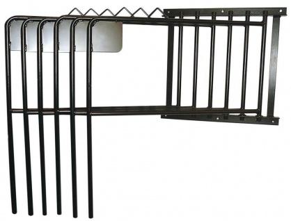 Harry's Horse Deckenhalter für 6 Decken schwarz Metall drehbare Bügel Wandhalter
