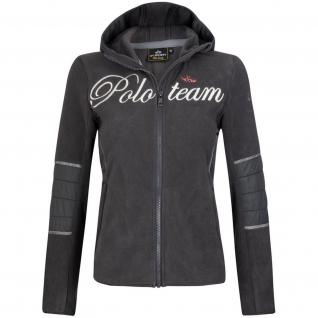 HV Polo Damen Fleece Jacke Bloc superweich Prints Stickereien Kapuze