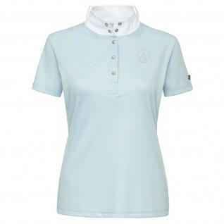 Imperial Riding Damen Turniershirt Starlight Polyester kurzarm Stehkrag. Strass - Vorschau 4