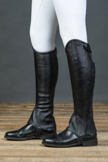 Harry's Horse Luxus Stiefelschaft Minichaps Nero schwarz Drehreißverschluss