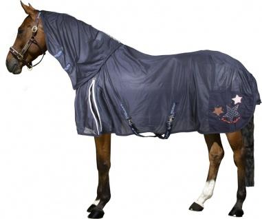 Imperial Riding Fliegendecke Fly Away komplett mit abnehmbarem Halsteil 145 cm