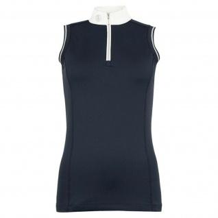 BR Damen Turniershirt Liberia ärmellos Stretch Stehkragen 2 Farben Gr. XS - XL