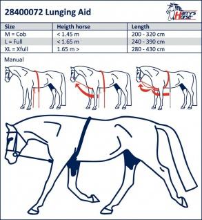 Harry's Horse Hilfslonge Soft Trainingsmittel beim Longieren zur Rückendehnung - Vorschau 2