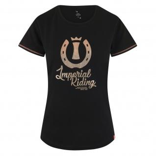 Imperial Riding Damen T-Shirt Starling Metallic-Branding Zitat Sommer 2019