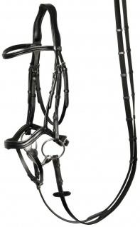 Harry's Horse Schwedische Trense Anatomic Leder mehr Komfort für das Pferd