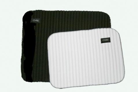 Ceratex Bandagierunterlage 1 Stück dünn gerippt schwarz-weiß 40 x 50 cm