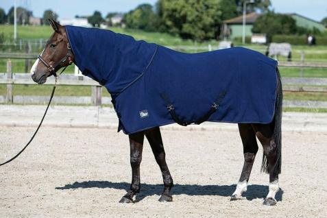 Harry's Horse Fleecedecke mit aufrollbarem Hals abnehmbare Kreuzgurte 2 Farben