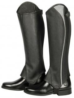 Harry's Horse Luxus Stiefelschaft Minichaps Palermo schwarz Glitzer-Dekor Gr XXL