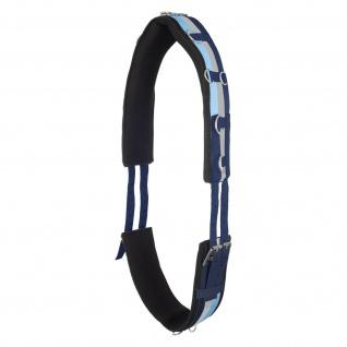 Imperial Riding Longiergurt Nylon DeLuxe Neopren unterlegt viele Ringe 2 Größen - Vorschau 3
