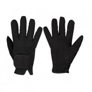 QHP Winter Reithandschuhe Handschuhe Avatar Neopren schwarz