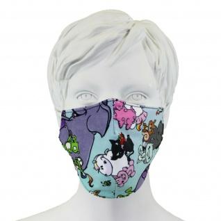 EQuest Pummeleinhorn Alltagsmaske Mund-Nasen-Maske wiederverwendbar