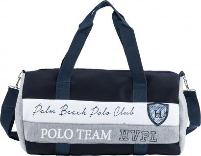 HV POLO Sporttasche Nordic Details in Kontrastfarbe Prints und Logo