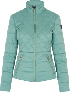 HV Polo Damen-Jacke Abbie gesteppt RV bedrucktes Futter 2 Farben
