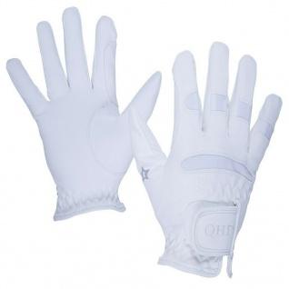 QHP Reithandschuhe Multi Junior L+R Handschuhe weich mit elastischen Einsätzen