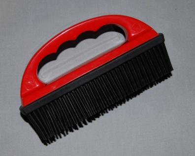 Gummi-Haarbürste Haarentfernung Gummibürste Griff. für Textilien. Polster Decken