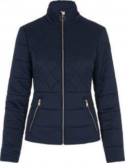 HV Polo Damen-Jacke Abbie gesteppt RV bedrucktes Futter 3 Farben