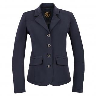 BR Damen Turnierjacket Monaco Softshell Kragen+Taschenklappen auswechselbar blau