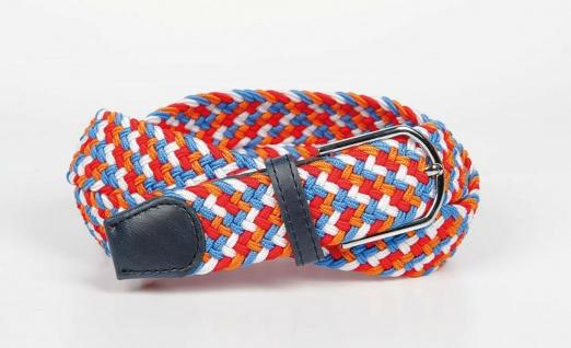 Harry's Horse Gürtel Dutch Orange elastisch geflochten 70 cm + 100 cm