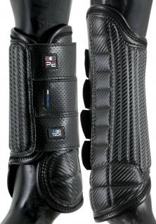 Premier Equine Carbon Tech Air Flex Vielseitigkeit Gamaschen 4er-Set front+hind