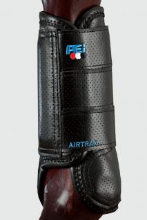 Premier Equine Air Trax Eventing Boots Gelände-Gamaschen vorne 2 Farben 3 Größen