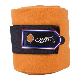QHP Fleece-Bandagen Holland 3 m Klettverschluss 4er Set pass. zur Serie Holland