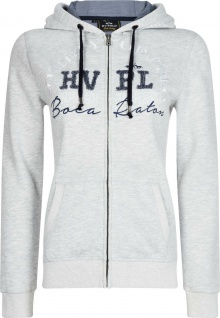 HV Polo Damen Sweat Jacke Cardigan Pines Kapuze luxuriöse Stickerei