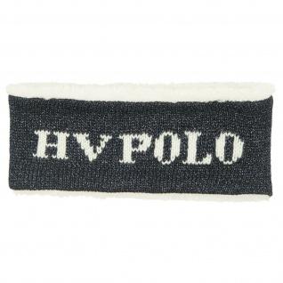 HV Polo Stirnband Belleville gestrickt mit weichem Fleece-Futter tw Glitzerfäden