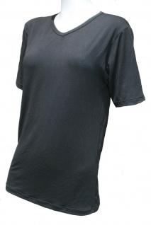 CeraTex Funktions-Shirt mit V-Ausschnitt kurzarm unisex schwarz