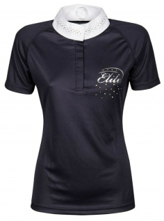 Harry's Horse Damen Turniershirt Elite Crystal kurzarm Stehkragen Strass 2 Farb.