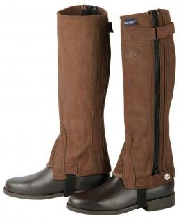 Harry's Horse Chaps Minichaps Amara elastisch Reißverschluss braun div. Größen
