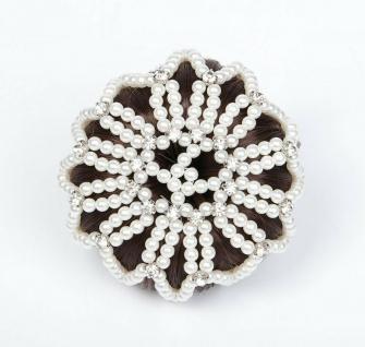 Harry's Horse Haarnetz Knotennetz Crystal 2 Farben elastisch Universalgröße