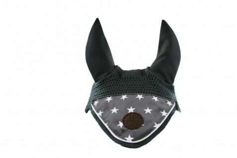 EQuest Fliegenohren EQ Style mit Patch und Stoffecke im Sternchen-Design Pony