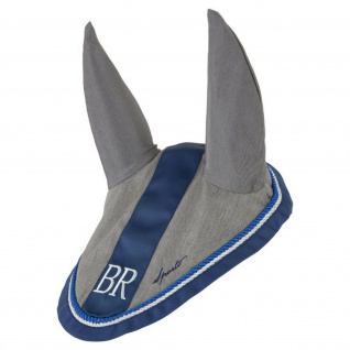 BRPS Fliegenohren/Fliegenschutzhaube Sports Baumwolle Zierkordel 2 Fb. WB + VB