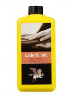 10.50 EUR/l B&E Lederöl flüssig 1000 ml hell Pflege Leder nährt imprägniert