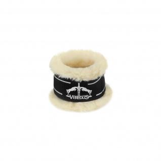 Veredus Pro Wrap Save the Sheep Fesselschutz aus techno sheepskin schwarz+braun