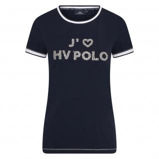 HV Polo Damen T-Shirt HVP Jadore kurzarm Logo-Print Strasssteine Sommer 2021