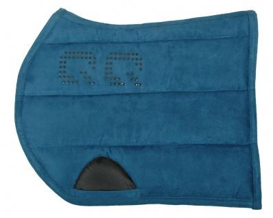 QHP Puff Pad Super Grip Sattelpad Suedine absorbierende Unterseite viele Farben
