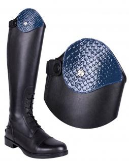 QHP Stiefel-Top. austauschbares Oberteil Croco für Stiefel Romy